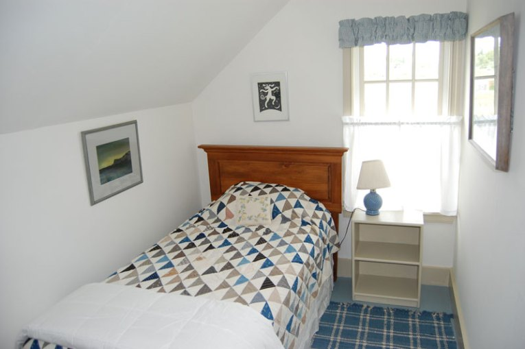 Renovation of a Cape on Monhegan Island  Maine Small bedroom