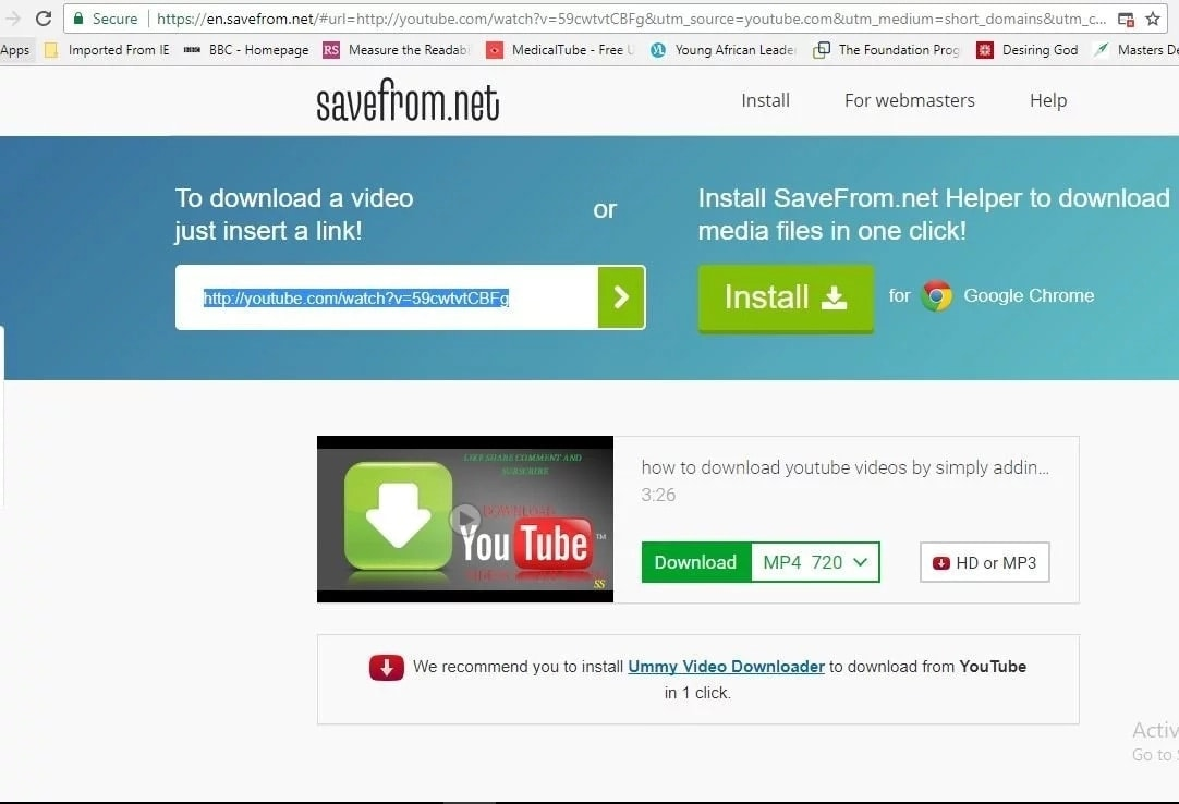 How to download from YouTube using SS