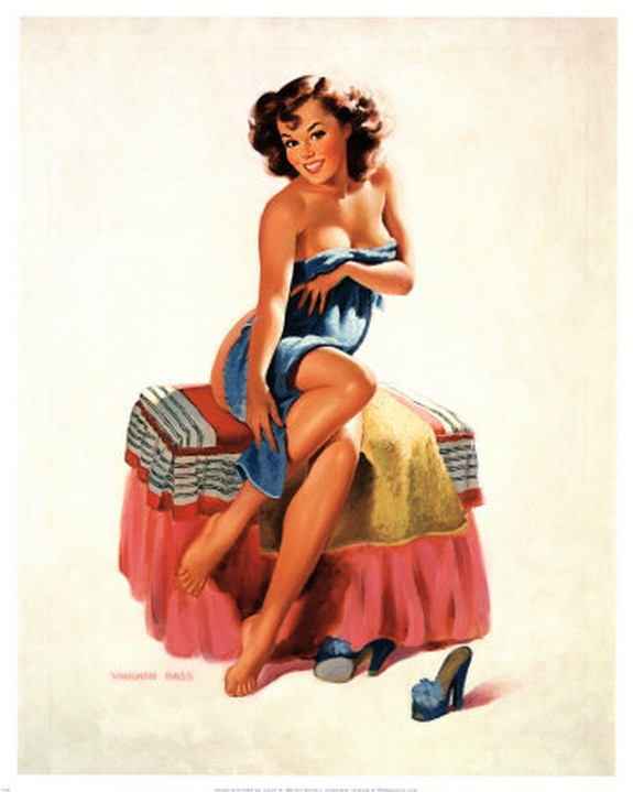 The Best Pin-up Girl Paintings