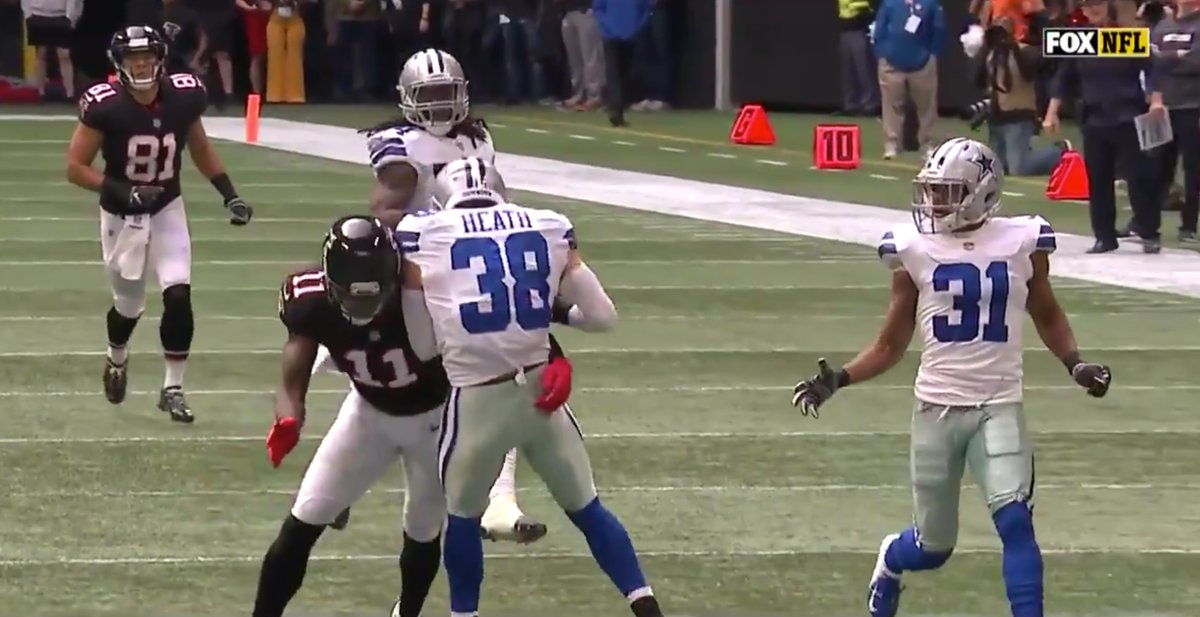 Jeff Heath Dallas Cowboys