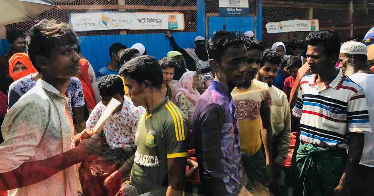 রোহিঙ্গা ক্যাম্পগুলোতে করোনা সংক্রমণের আশঙ্কা