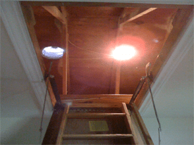 Dallas Pulldown Attic Staircase Covers Draft Out Attic