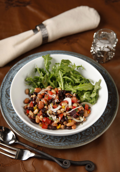 Stampede 66 S Three Bean Ranch Salad Simplified Cooking