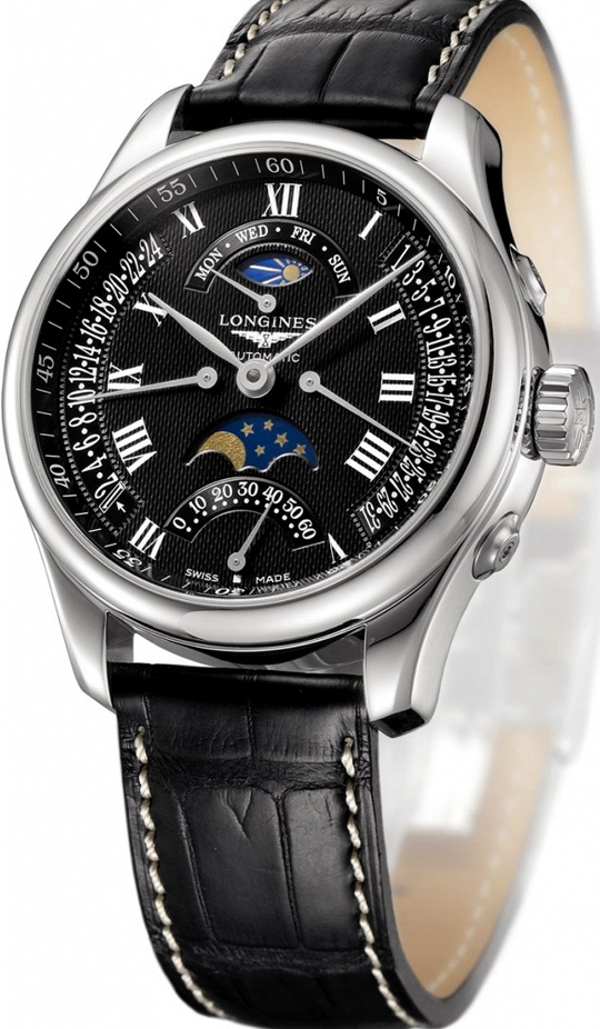 The Longines Master Collection Retrograde Moon Phase Da