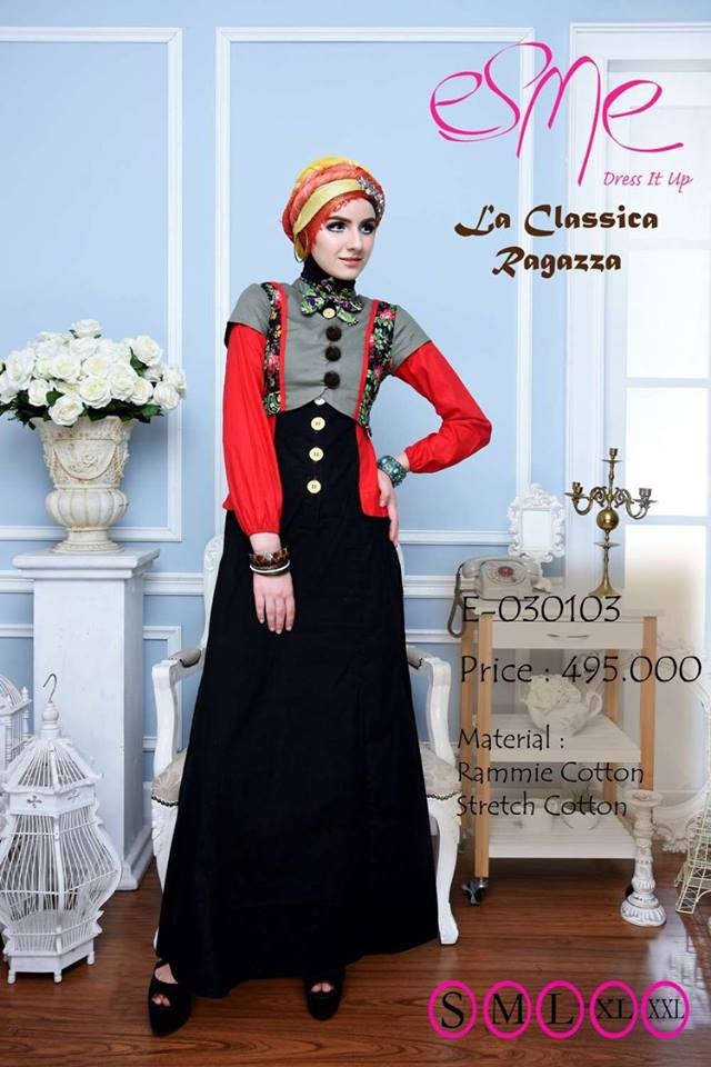 Image Result For Model Gamis Simpel Nan Elegan