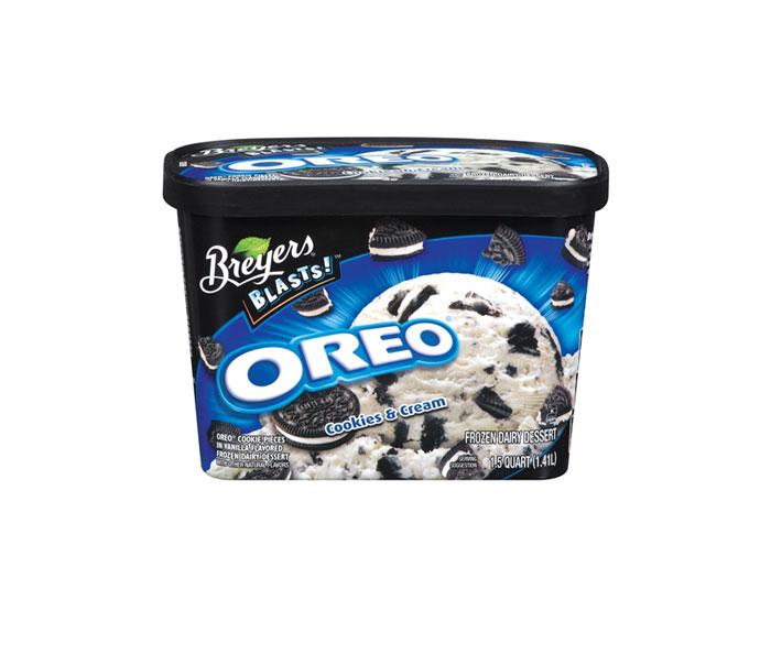 Breyers Vanilla Snickers Cream Ice