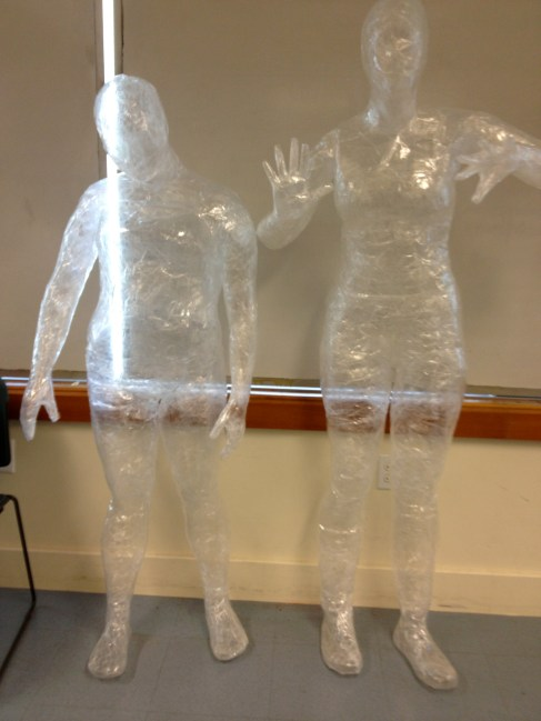 Body Bag Tape Mannequin Human Figure In Contemporary Art
