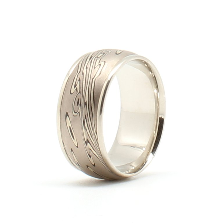 Rings Band Mens 10mm Wide
