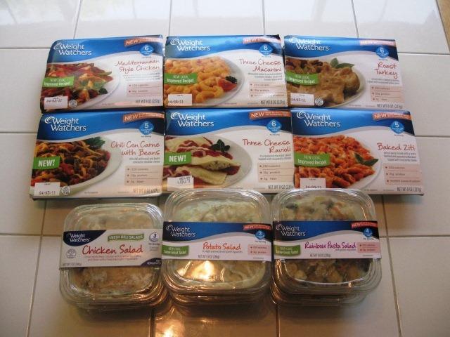 Weight Watchers Fresh Meals