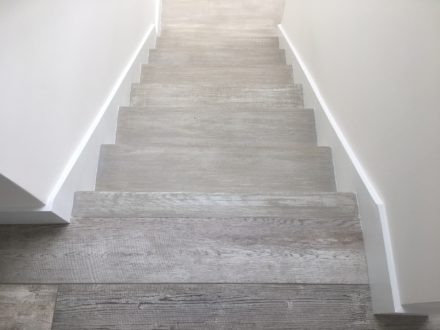Refinishing Stair Treads To Mimic Wood Look Tile Floor Atlantic | Wood Look Tile For Stairs | Weathered Wood Distressed | Ceramic | Bedroom | Rocell Living Room | Porcelain
