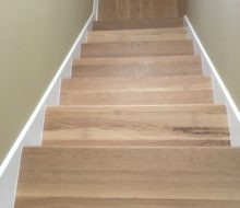 New Wood Stair Tread Installation Archives Dan S Floor Store   Prefinished Maple Stair Treads   Unfinished Maple   Hardwood Flooring   Prefinished Natural   Natural Maple   Hard Maple