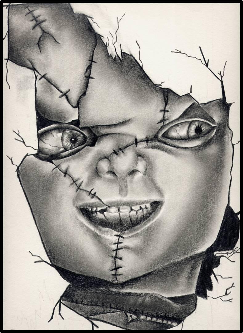 Chucky Drawings Pencil