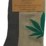 Oatmeal no show hemp sock