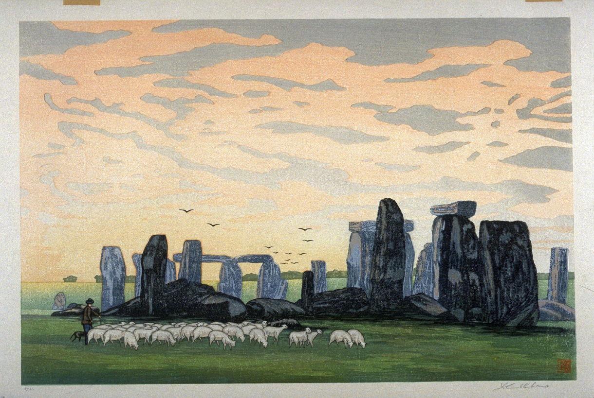 stonehenge sketchbook - HD1220×819