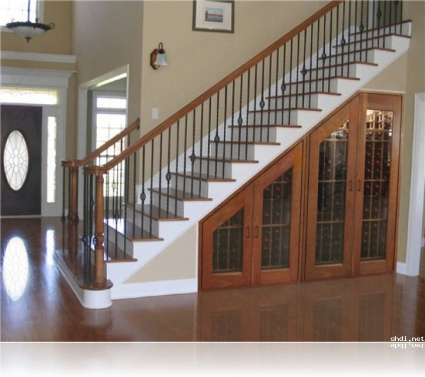 Appealing Under Stair Wine Cabinet Design For Build Wine Cellar | Cabinet Design Under Stairs | Tv Stand | Stairs Storage Ideas | Kitchen | Shelves | Staircase Ideas