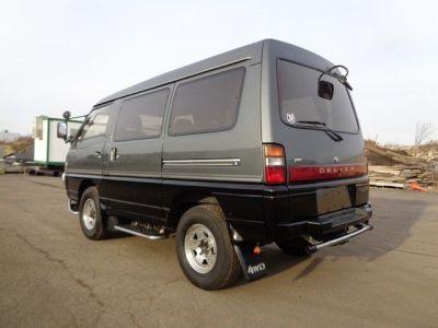 1991 MITSUBISHI DELICA MINIVAN AWD 4X4 SYNCRO 2.5L TURBO ...