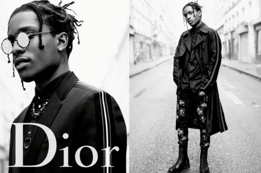 A AP Rocky Proves to Be A Dior Fashion Killa Once Again     Daze Summit