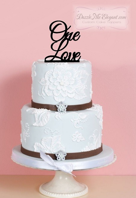 One Love Cake Topper   Wedding Cake Topper Your Cart  Checkout      Catalog   One Love Wedding Cake Topper