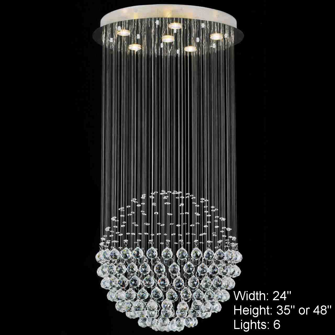 Led Light Base Crystal