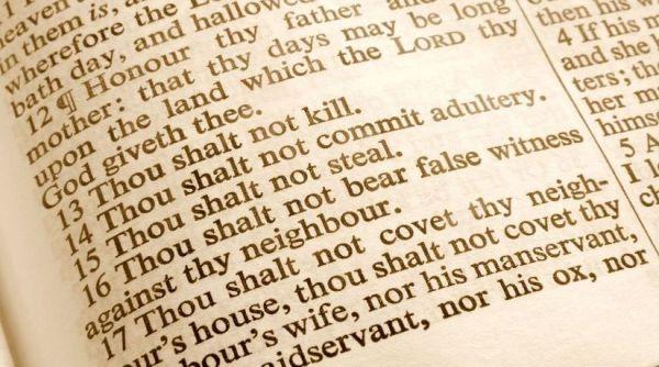 10 commandments bible # 7
