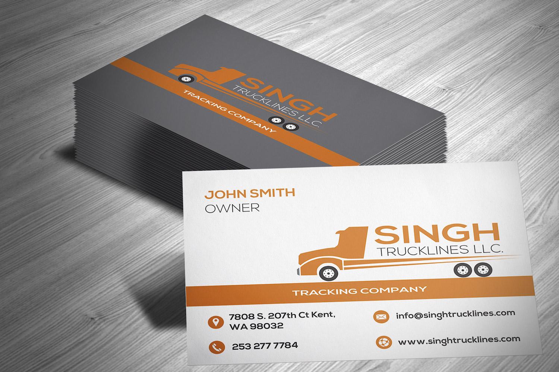 Hot Shot Trucking Business Cards - logo design ideas