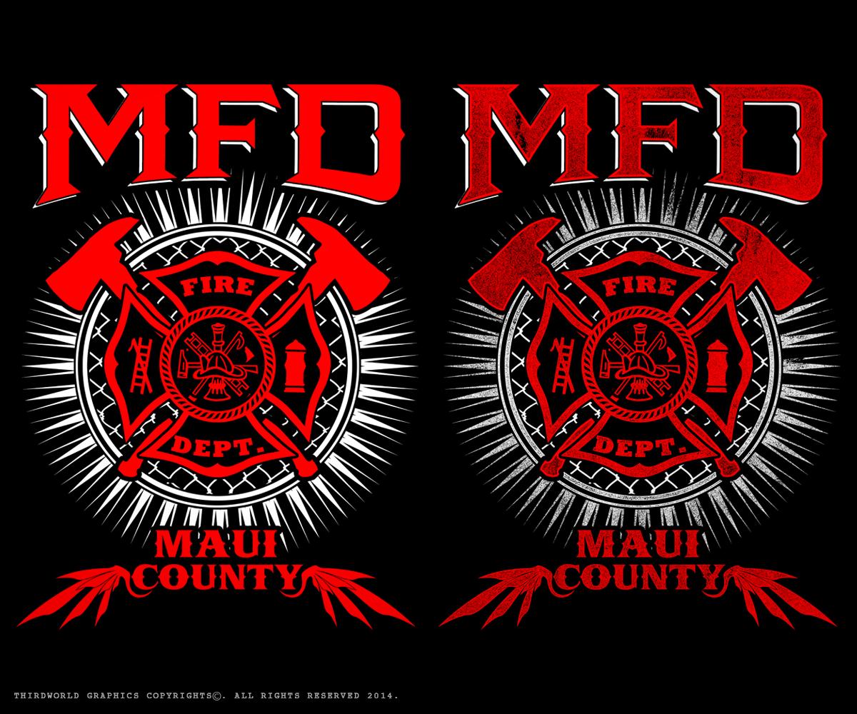 Vol Fire Dept T Shirt Designs