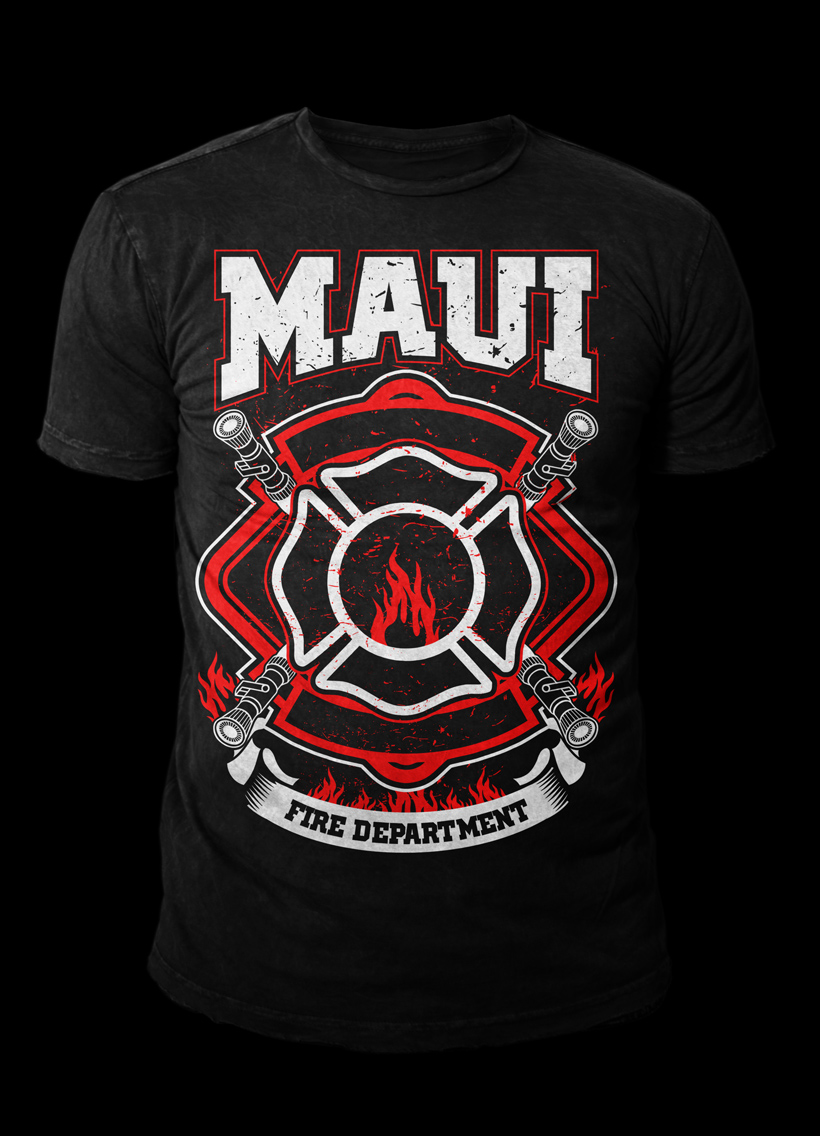 Fire Station T Shirt Designs