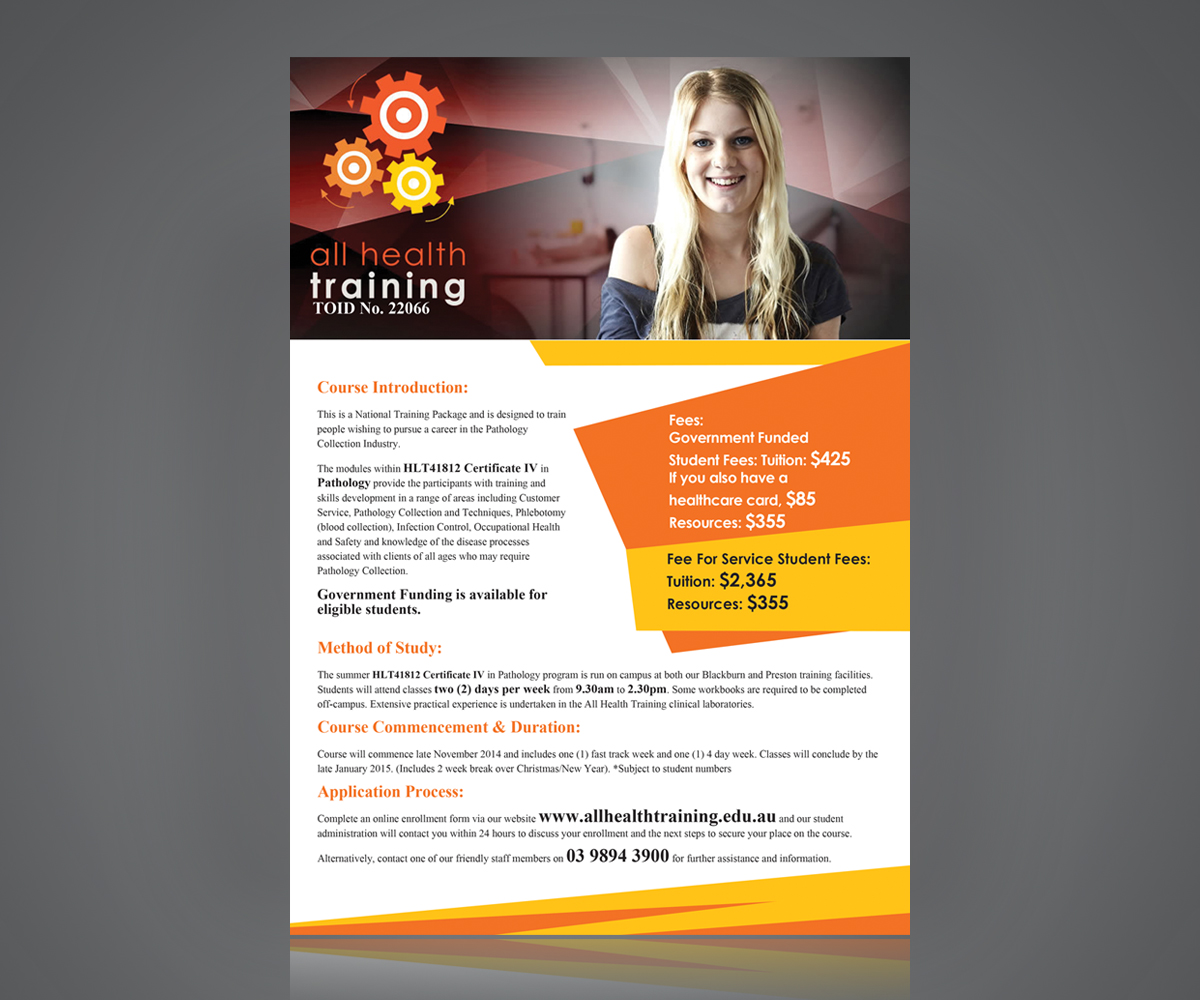 Health Brochure Template - Health brochure templates