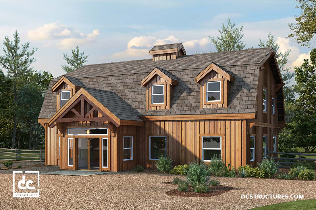 Best Kitchen Gallery: Barn Home Kits Dc Structures of Barn Home Designs  on rachelxblog.com