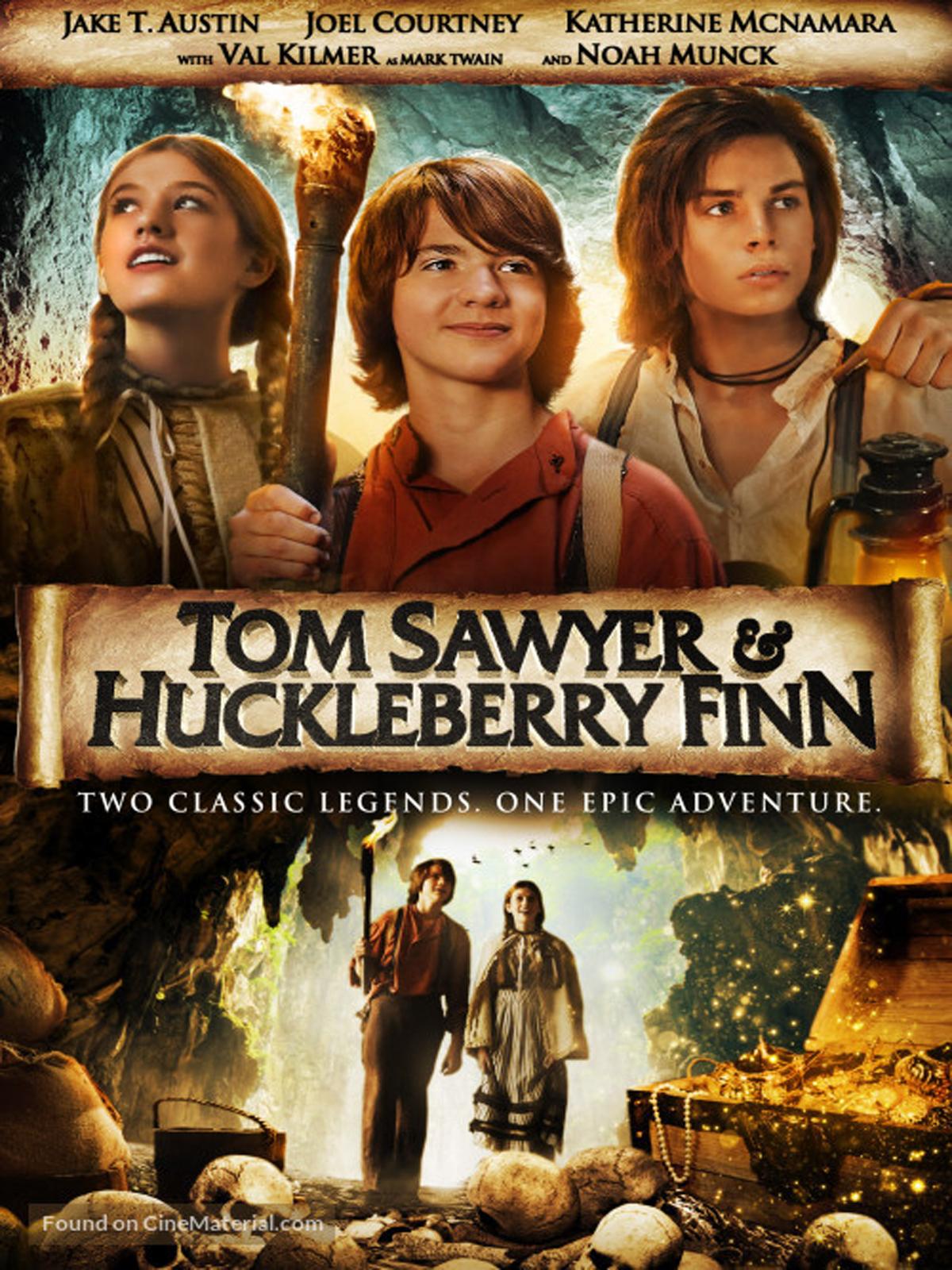 Katherine Mcnamara Tom Sawyer And Huckleberry Finn