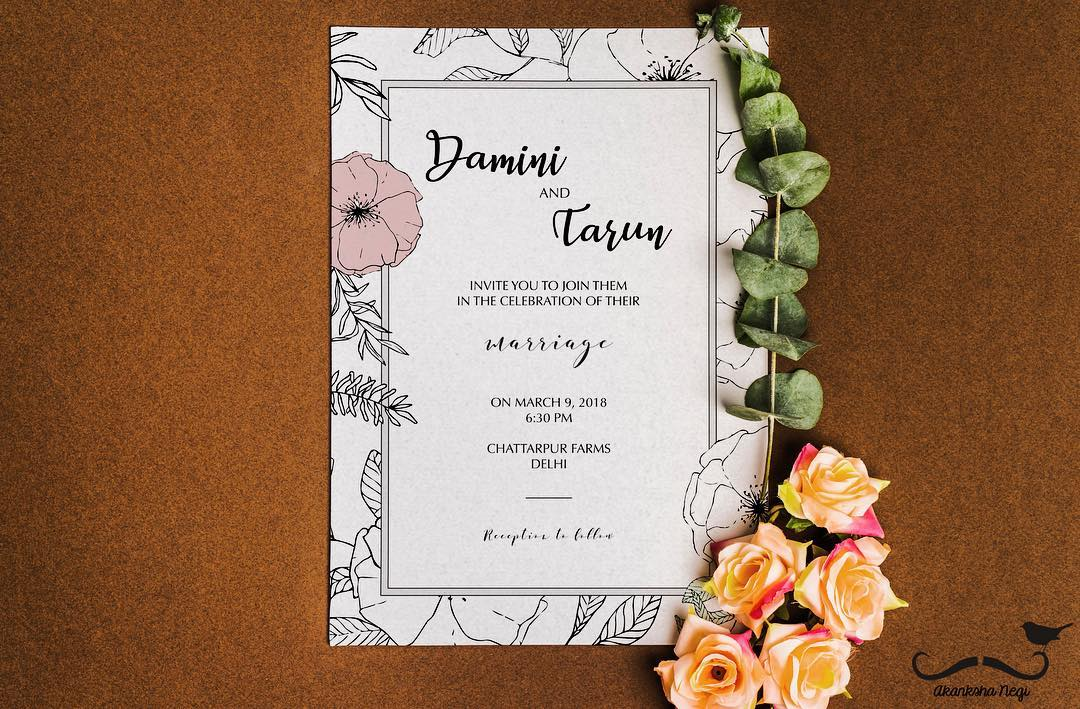 Wedding Invitation Card Quotes For Friends: Wedding Invitation Quotes