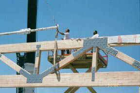 Bolted And Glulam Trusses