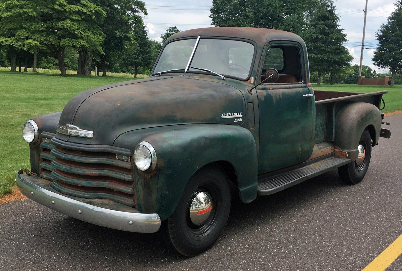1949 Chevrolet 3 Window Pickup Connors Motorcar Company