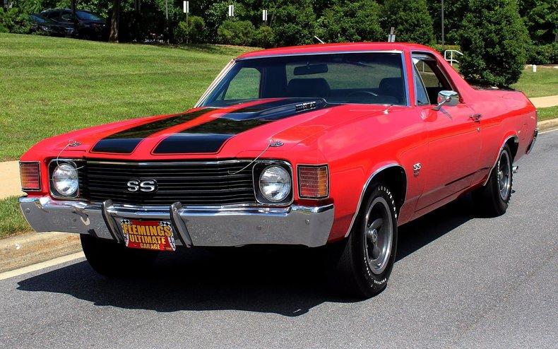 1972 Chevrolet El Camino 1972 Chevrolet El Camino Ss454