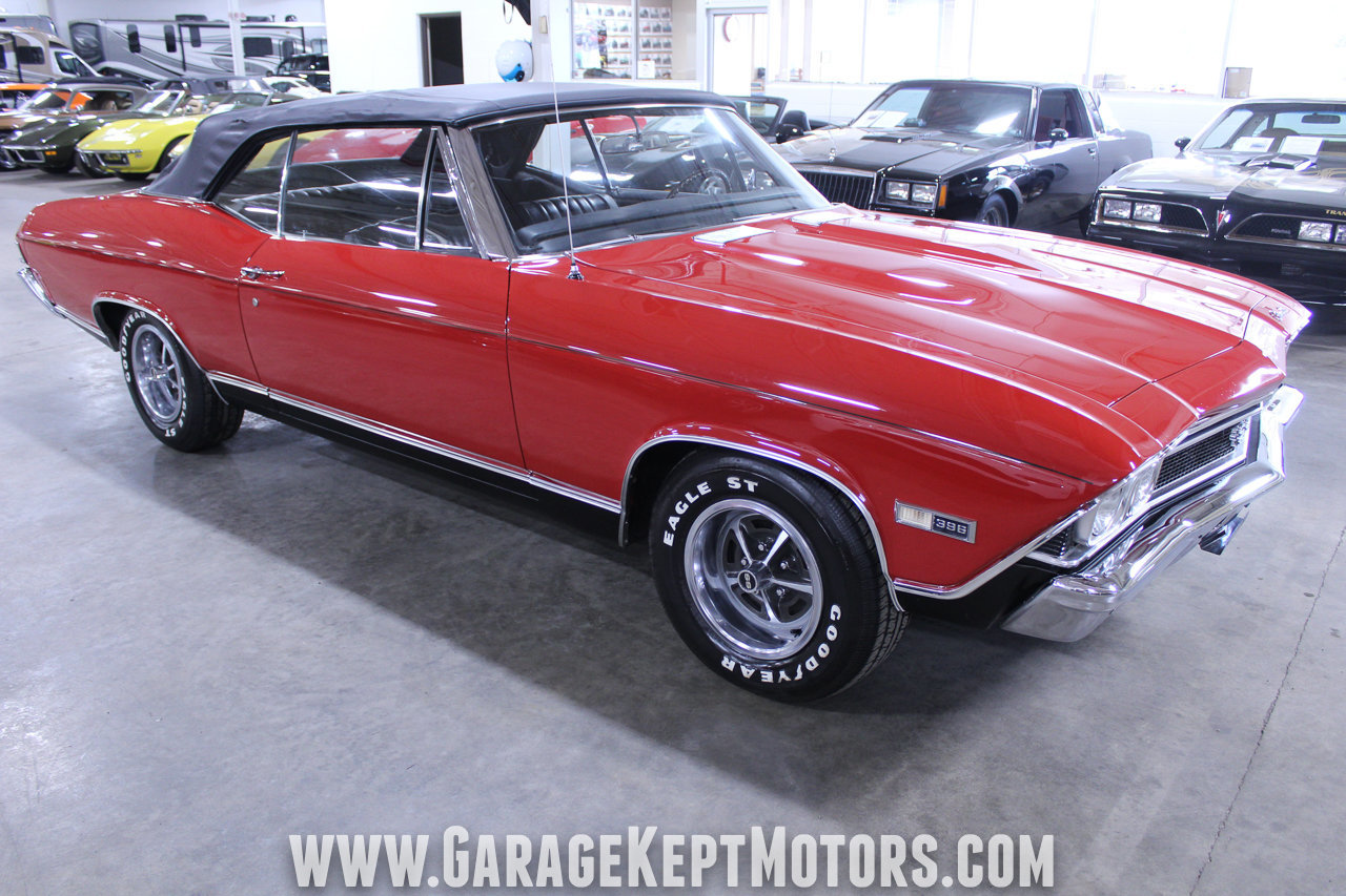 396 Chevelle Coupe Chevrolet 1968 Ss Hardtop