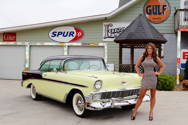 1956 Chevrolet Bel Air   Classic Cars   Muscle Cars For Sale in     1956 Chevrolet Bel Air