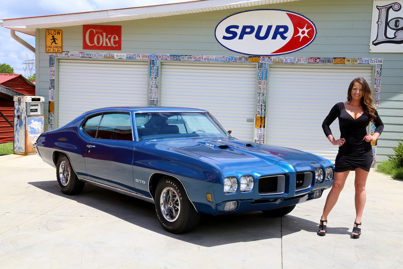 400 Four Speed PHS Documented Frame Off Restored Power Steering     1970 Pontiac GTO