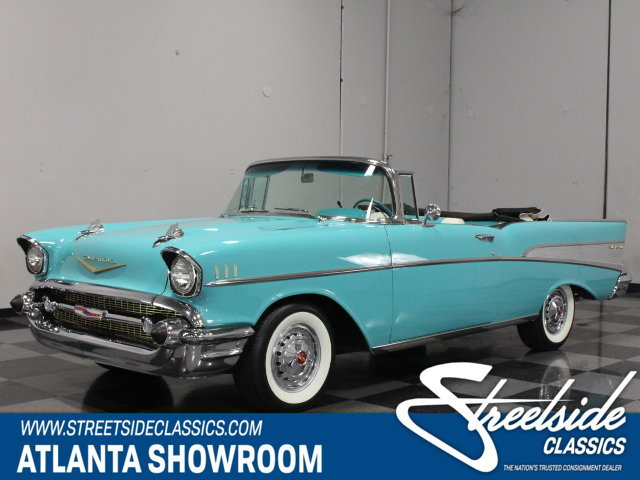 1957 Chevrolet Bel Air   Streetside Classics   The Nation s Trusted     For Sale  1957 Chevrolet Bel Air