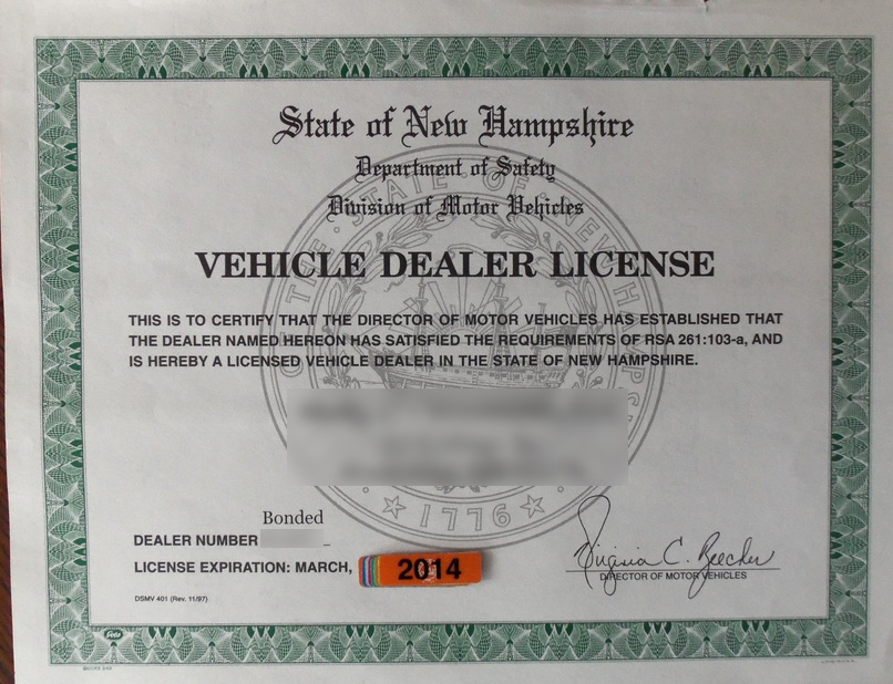 How Do You Get Dealers License