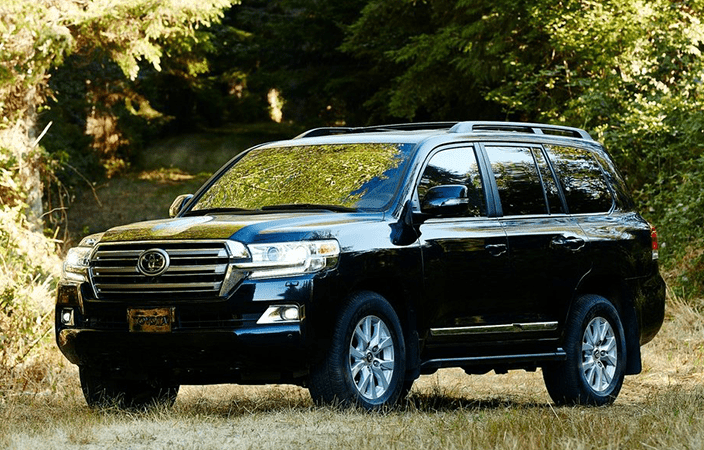 Toyota Yaris Rear View Mirror Sensors