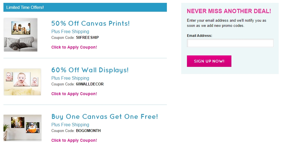 30% Off Easy Canvas Prints Coupon + 8 Verified Promo Codes ...