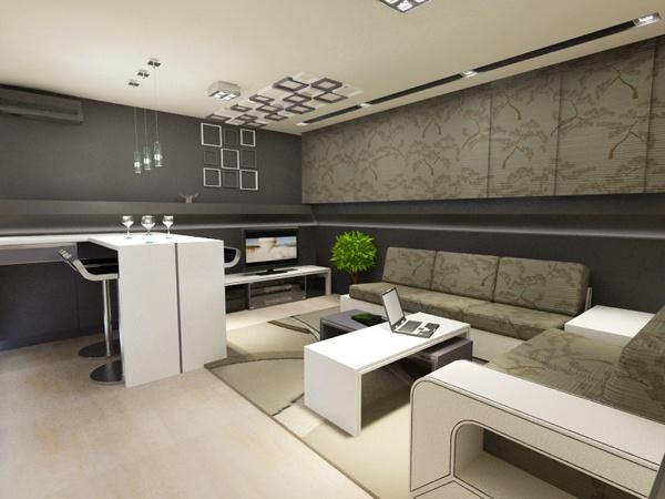 29 kreative Ideen zur Deckengestaltung in der Wohnung