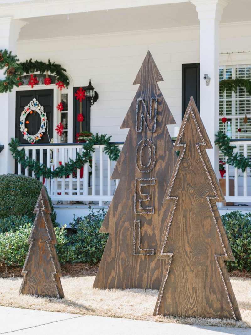 Veranda Christmas Outdoor Ideas Decorating