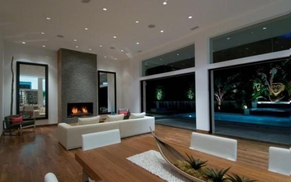 Wohnzimmer Decken gestalten – Der Raum in neuem Licht