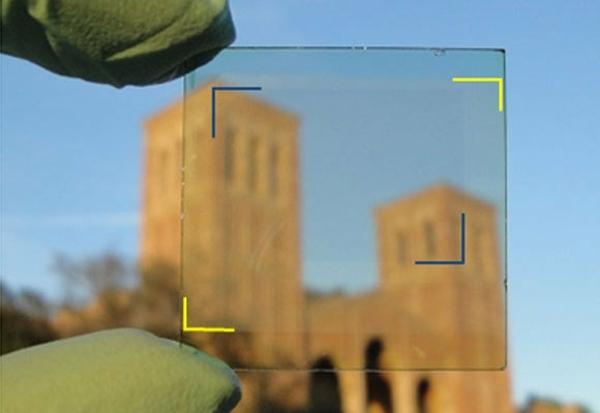Durchsichtige Organische Solarzellen Die Energiequelle