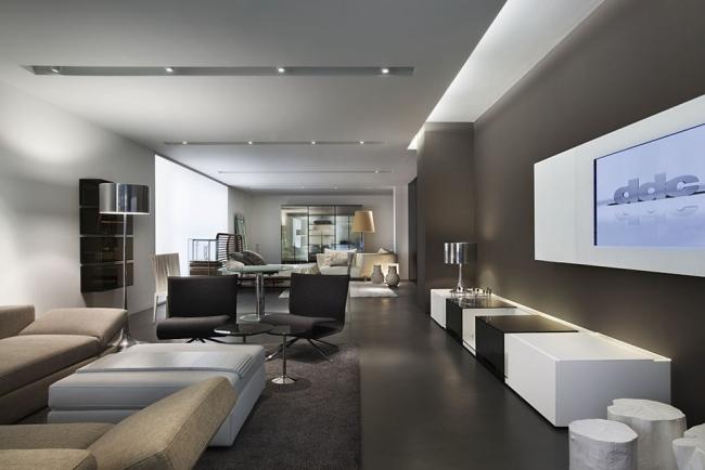 Moderne Deckengestaltung 83 Schlaf Amp Wohnzimmer Ideen