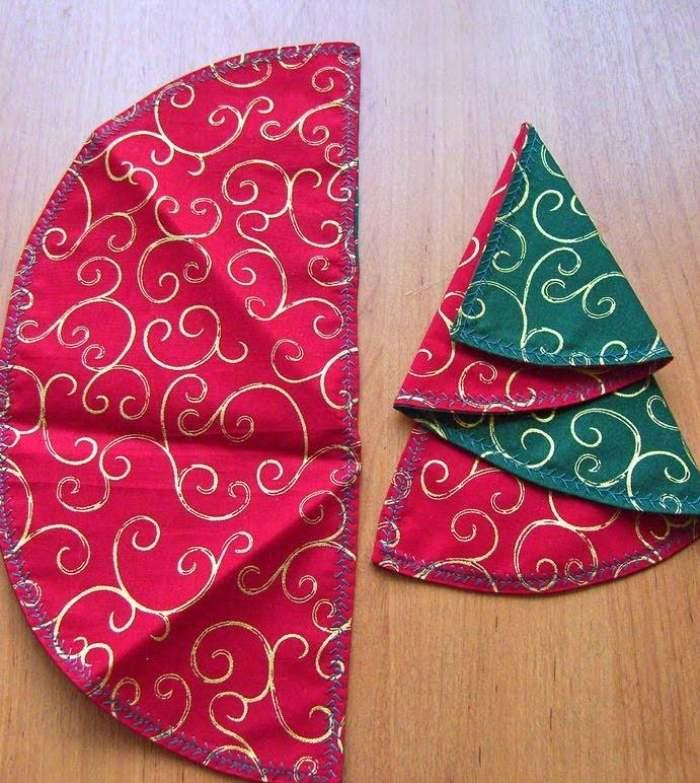 How Fold Paper Christmas Tree