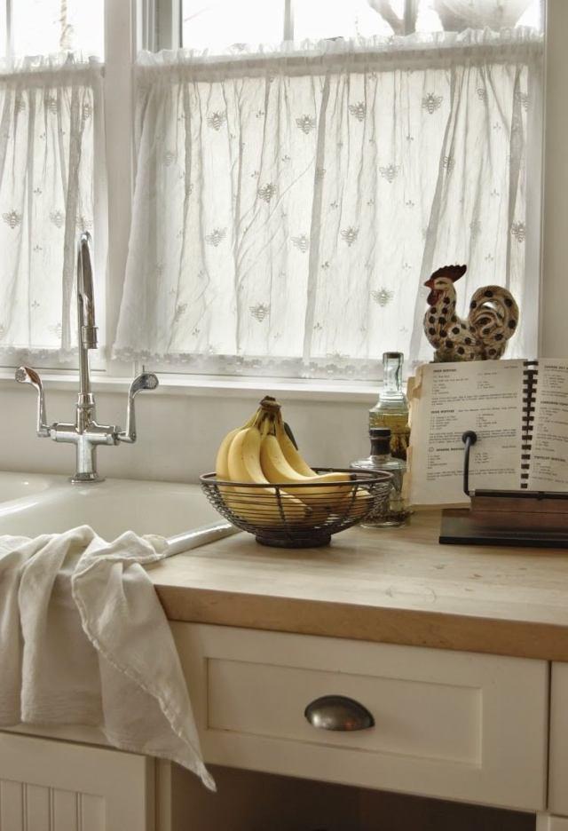 50 Fenstervorhänge Ideen für Küche - Klassisch und modern