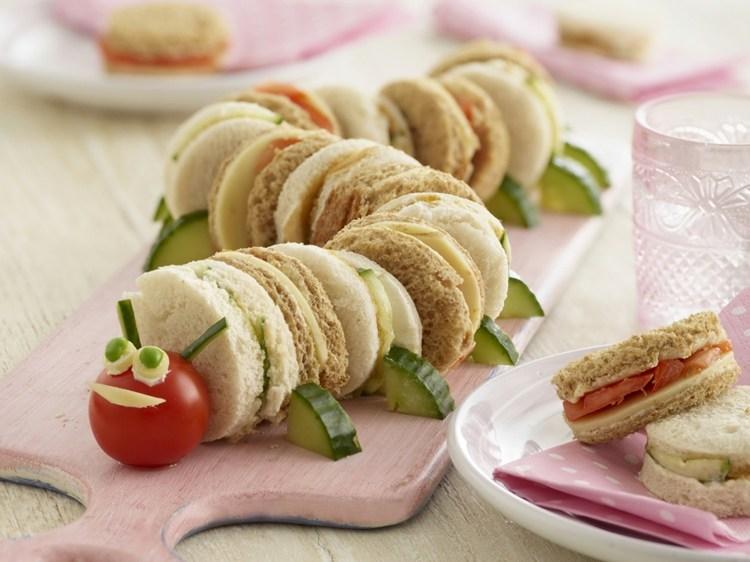 Vegetarisches Fingerfood F 252 R Die Party Zubereiten