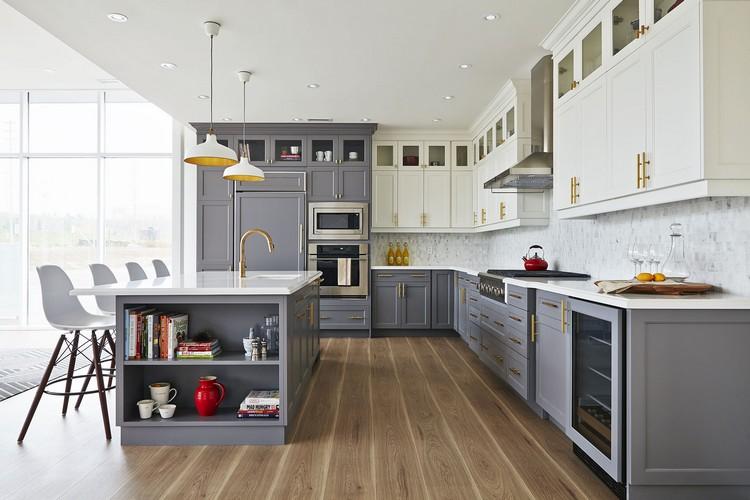 Welche sind die Vor- & Nachteile der Küchenoberschränke bis zur Decke?